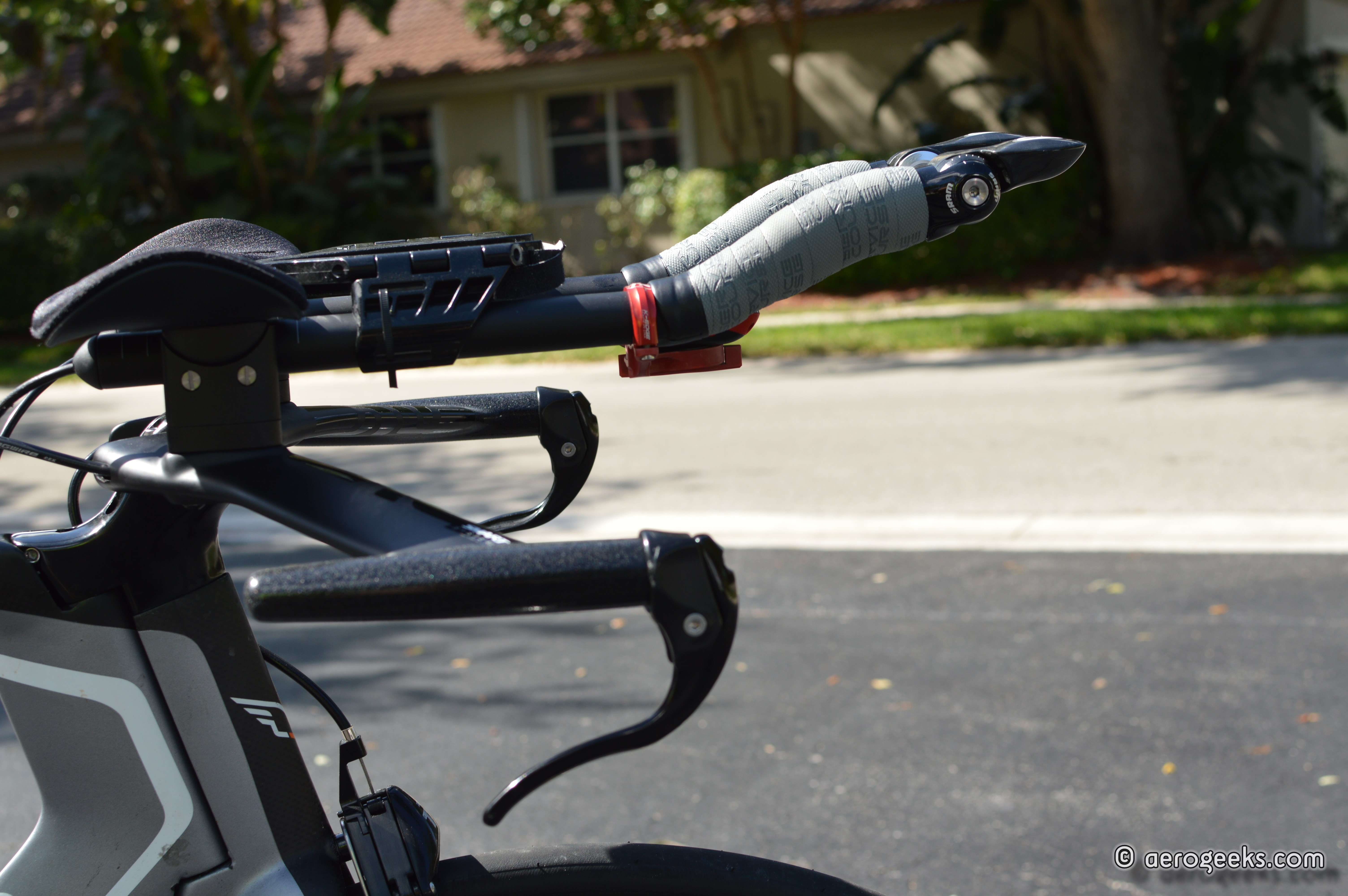 how to set up aero bars